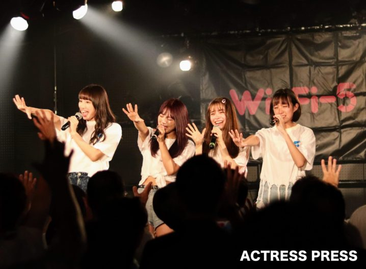 Wi-Fi-5ラストワンマンライブ(2019年8月31日、渋谷DESEOにて):撮影:ACTRESS PRESS編集部