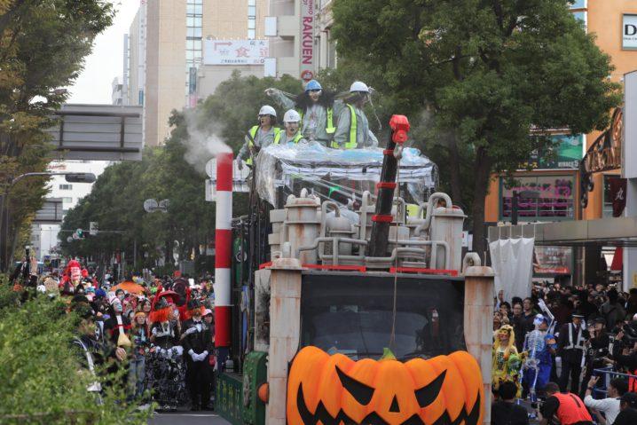 カワサキ ハロウィン パレード
