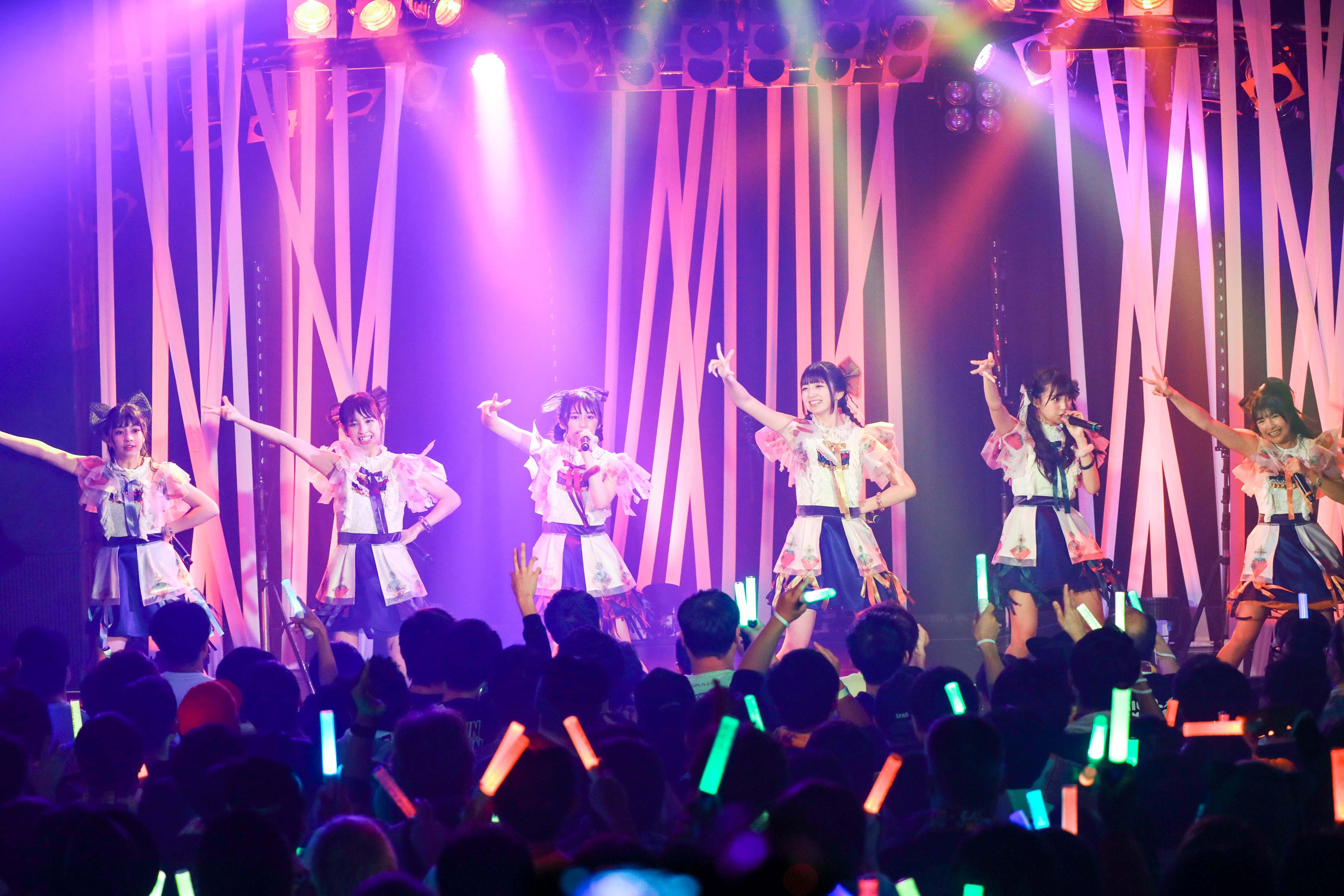 マジカル・パンチライン/10月20日、横浜Bay Hallでの東名阪ハロウィンツアーファイナルにて/撮影:名和洋助