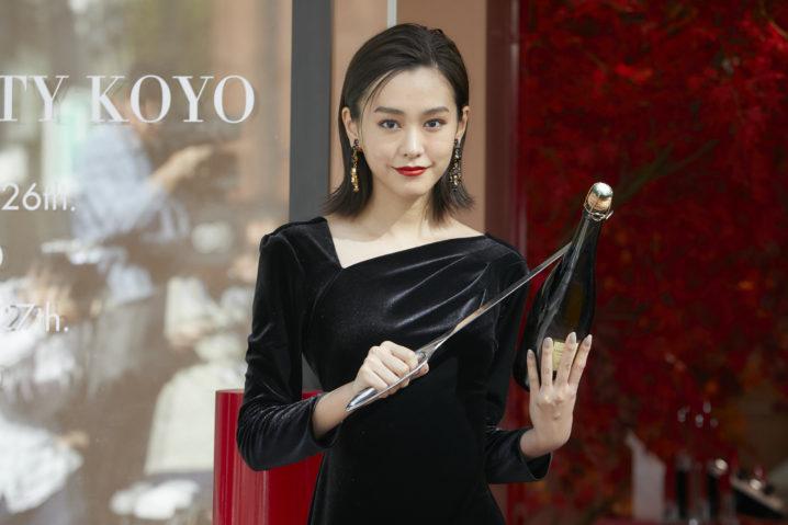桐谷美玲/「アルマーニ ビューティ KOYO」のオープニングセレモニー(2019年10月26日)