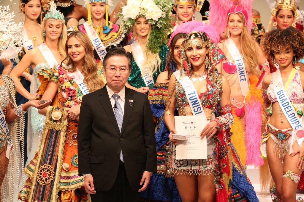 「ミス・インターナショナル」世界大会来日記者会見