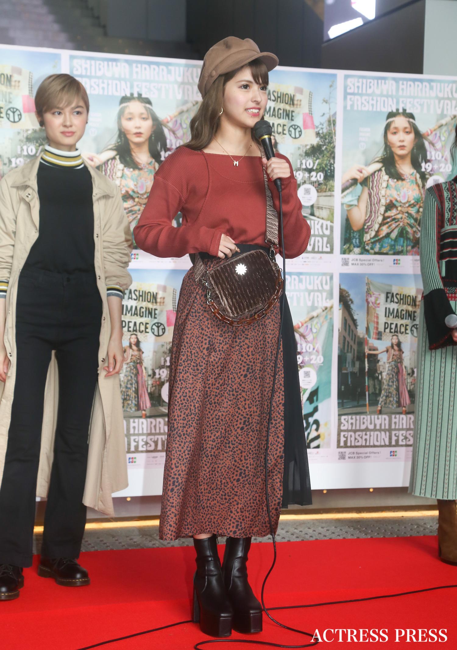 アンジェリカ/2019年10月19日、SHIBUYA HARAJUKU FASHION FESTIVAL/撮影:ACTRESS PRESS編集部