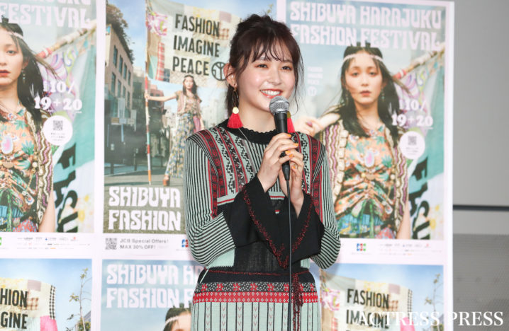 久間田琳加/2019年10月19日、SHIBUYA HARAJUKU FASHION FESTIVAL/撮影:ACTRESS PRESS編集部