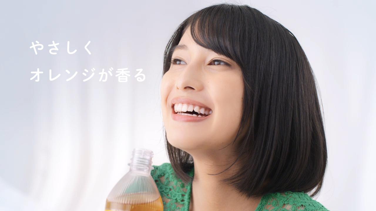 玉田志織/「TEAs' TEA NEW AUTHENTIC 生オレンジティー」新作TV-CM『生がイキてる』篇