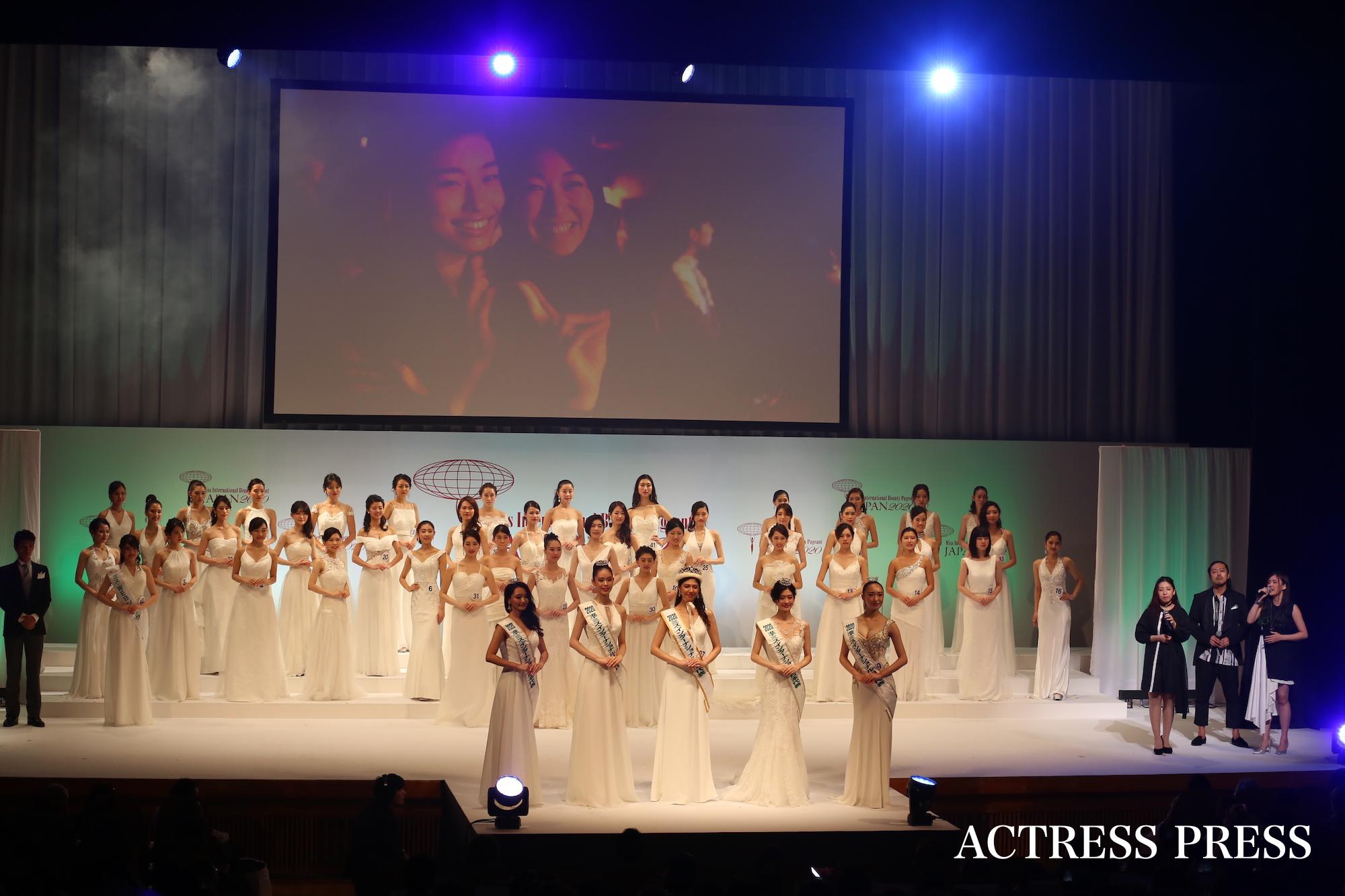 2020ミス・インターナショナル日本代表選出大会(2019年11月26日(火)、東京・ティアラこうとうにて)