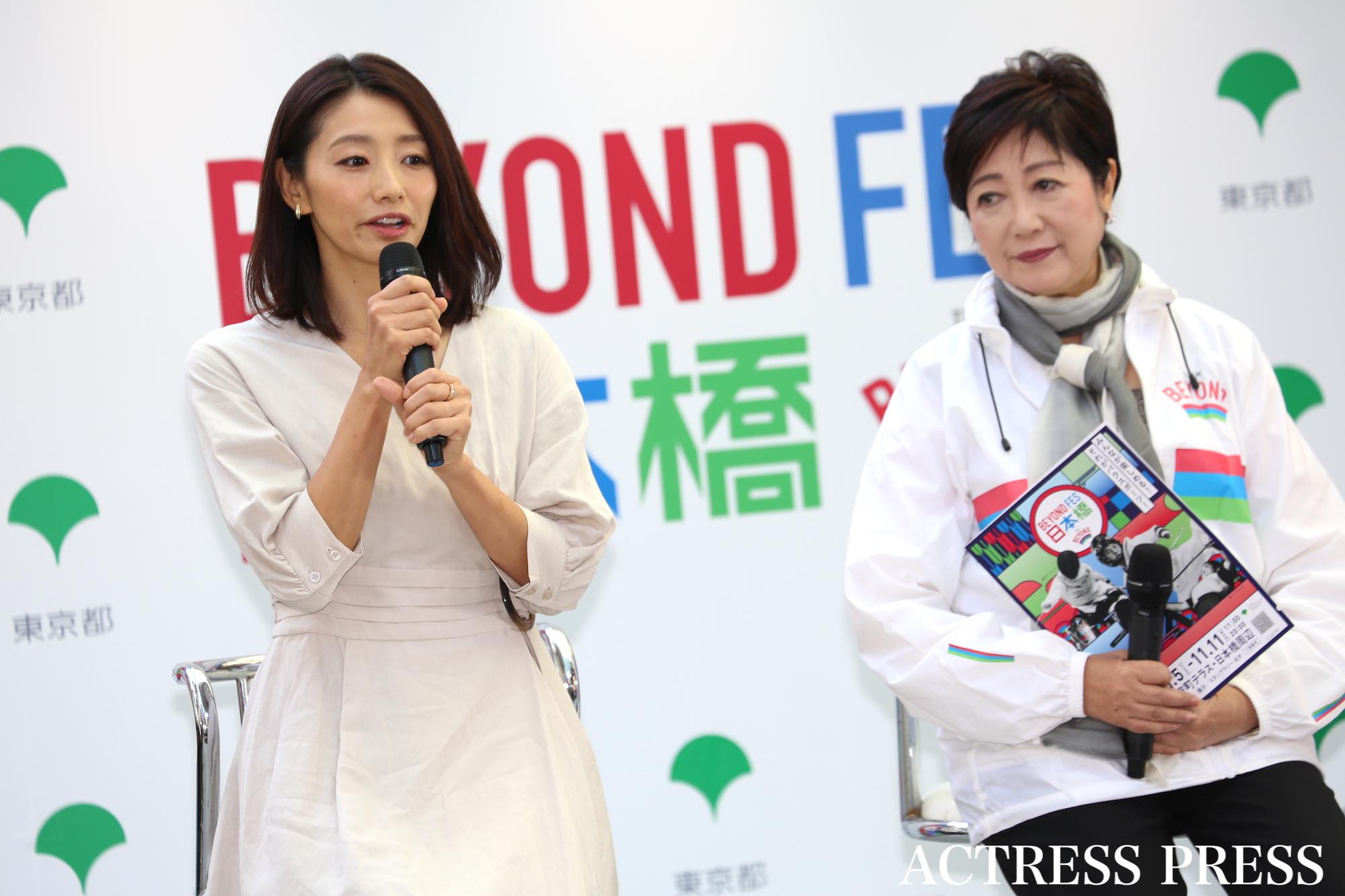 眞鍋かをり/『BEYOND FES日本橋』2019年11月10日