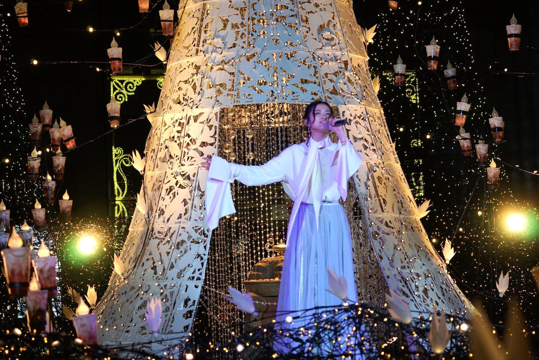 木下晴香/『Caretta Illumination 2019 ~アラビアンナイト~』点灯式(2019年11月13日(水)、カレッタ汐留にて)
