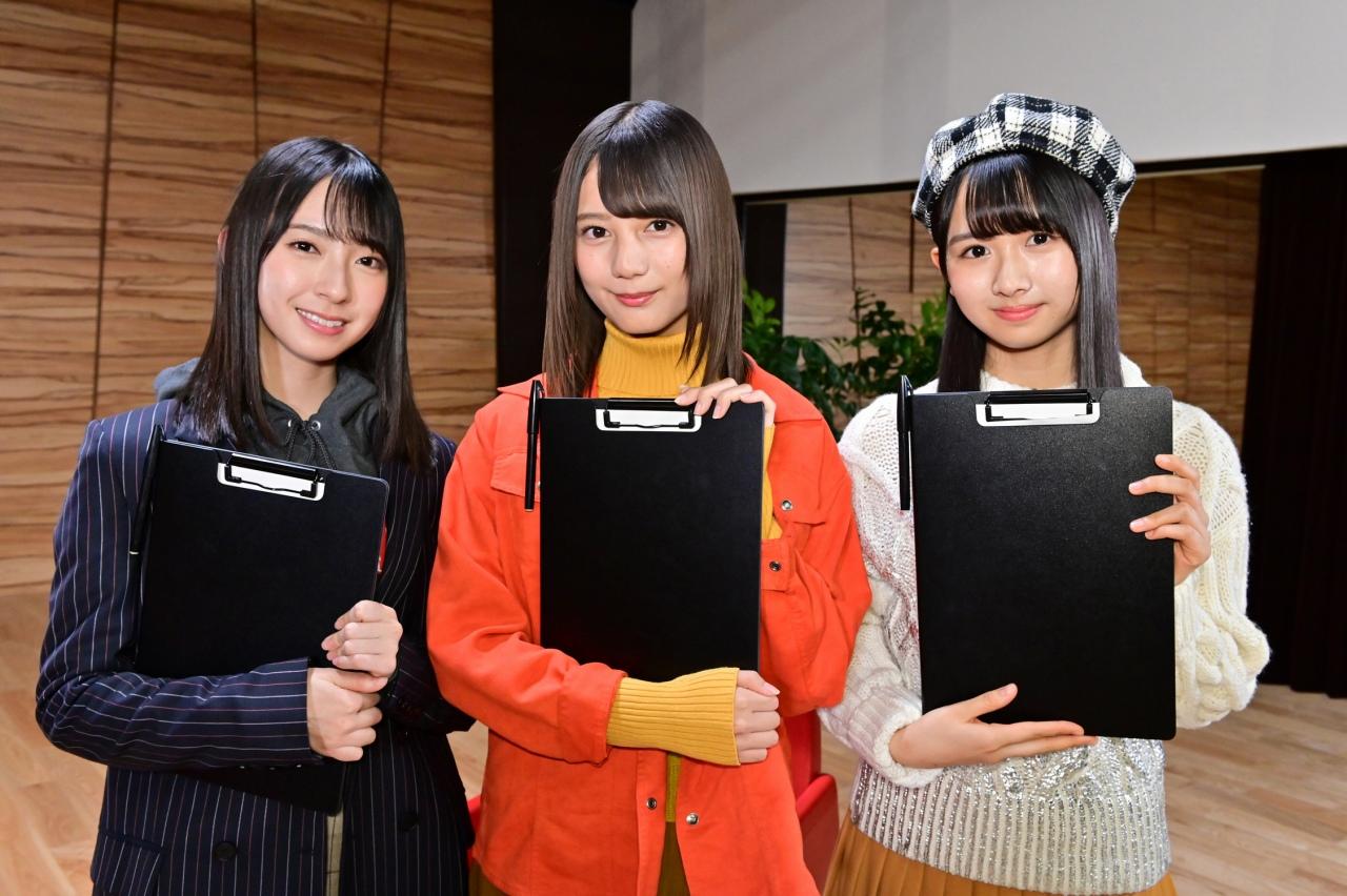 金村美玖、 小坂菜緒、 上村ひなの(日向坂46)
