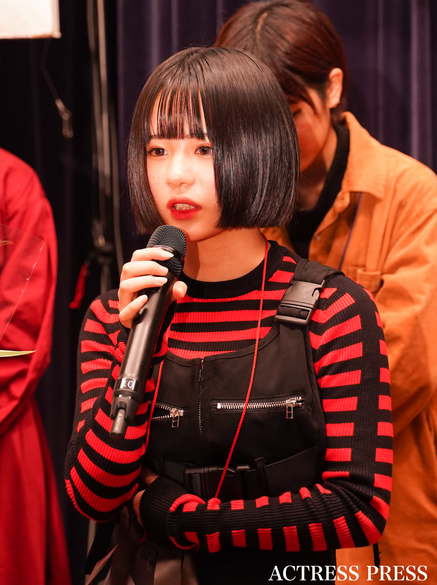 慶(ケイト)/「ミスiD2020」授賞式。11月23日、講談社にて。撮影:ACTRESS PRESS編集部