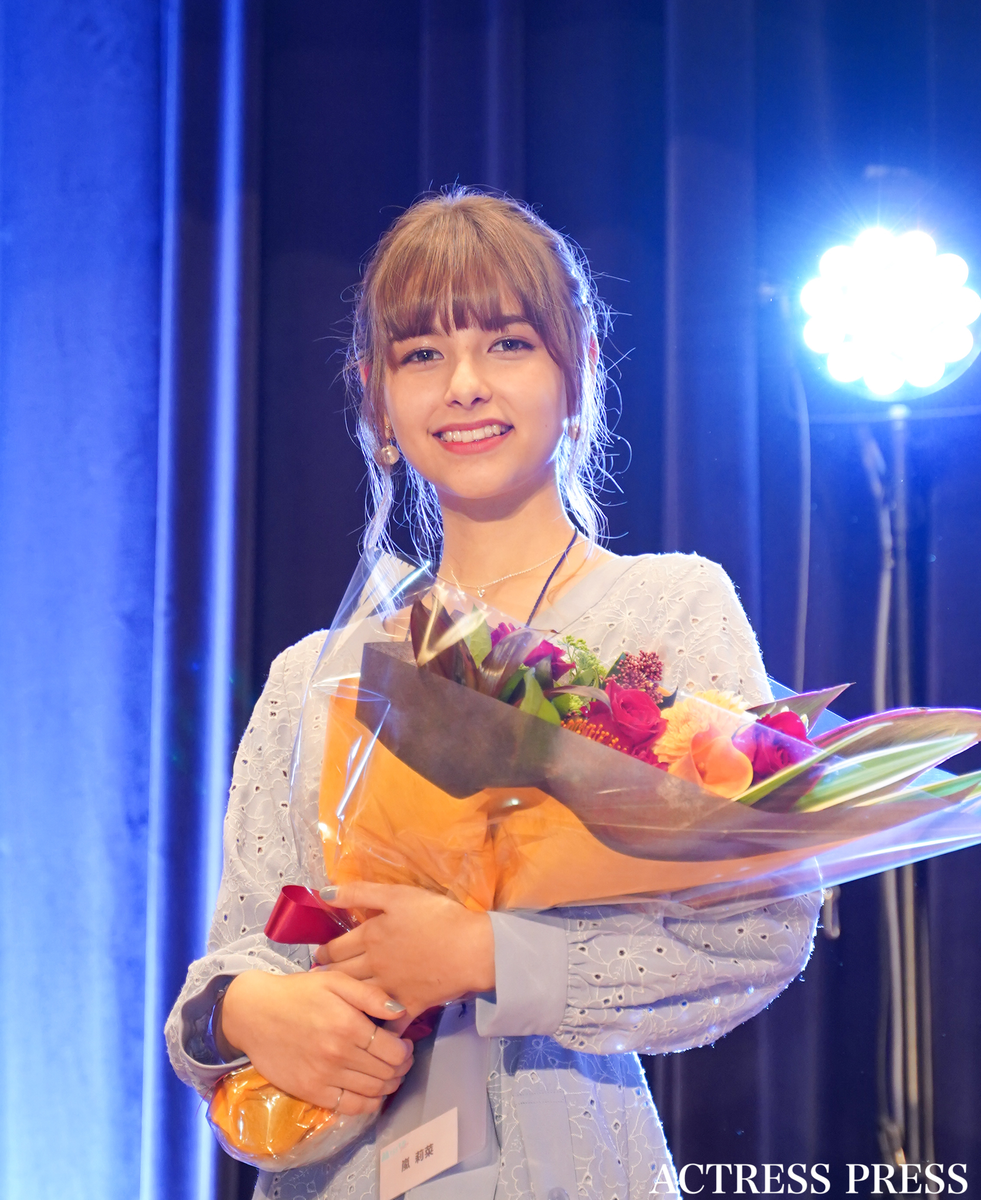 嵐莉菜/「ミスiD2020」授賞式。11月23日、講談社にて。撮影:ACTRESS PRESS編集部