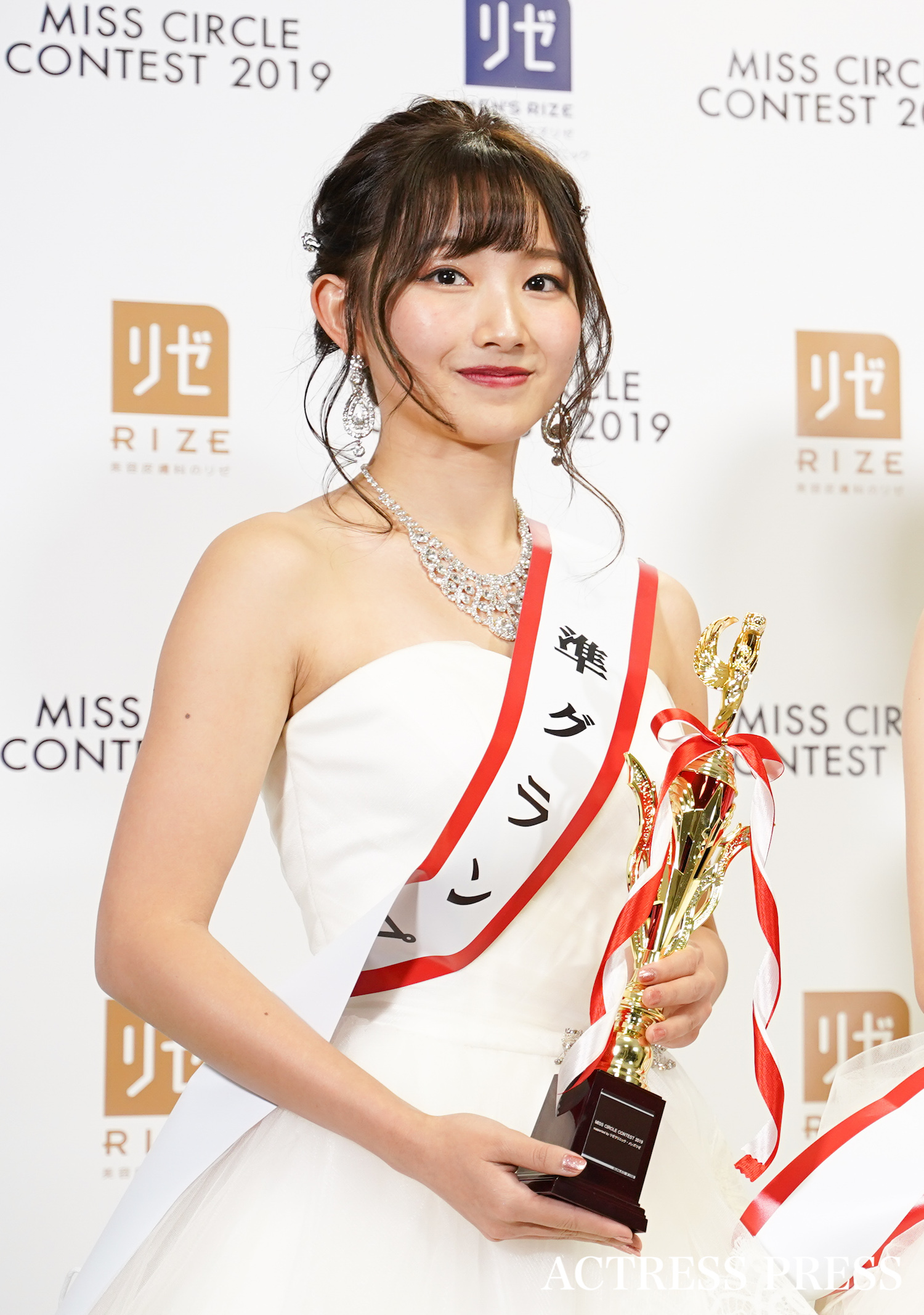 「MISS CIRCLE CONTEST 2019」(ミスサークルコンテスト)受賞者