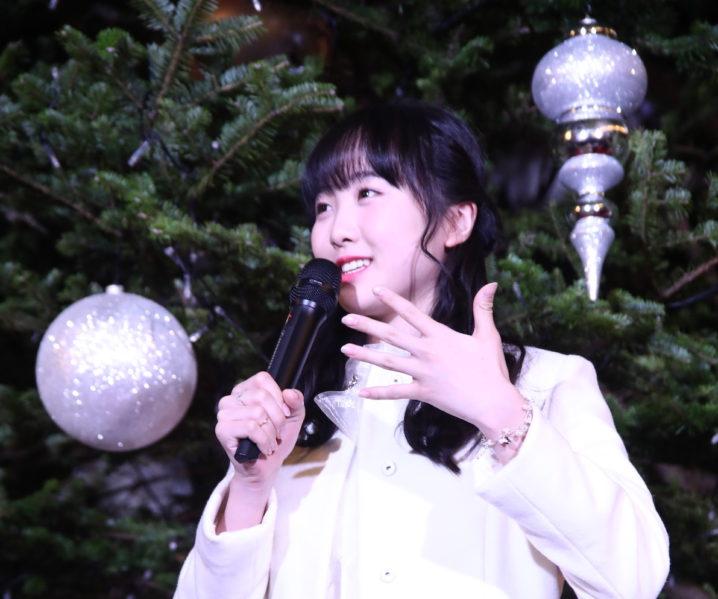 本田望結/東急百貨店・渋谷本店のクリスマスツリー点灯式(2019年11月7日)