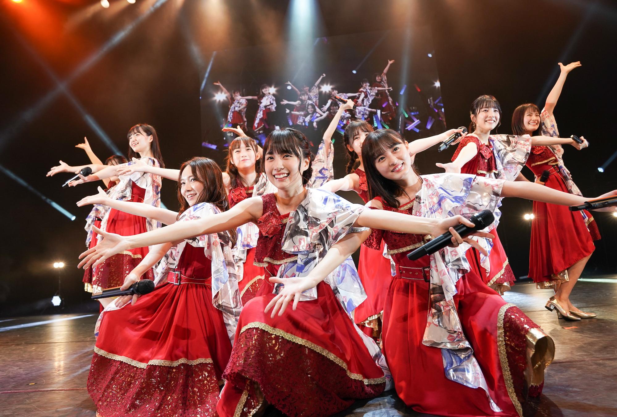 乃木坂46・4期生(2019年11月16日、「AGESTOCK2019 in TOKYO DOME CITY HALL」ライブにて)