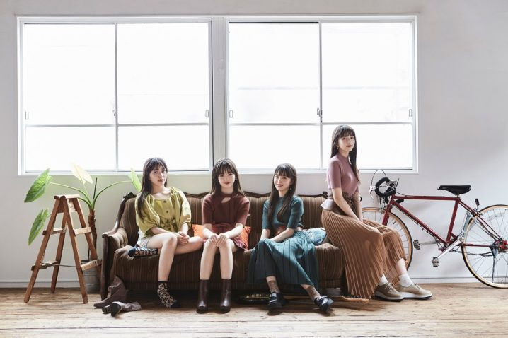@onefive ビジュアル写真                  (L→R) KANO / MOMO / SOYO / GUMI