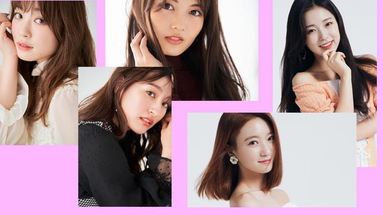 高嶋芙佳・森高愛・水谷果帆・ビニ・アリン(ファッション誌「Ray」Webモデル【Raygirl】(レイガール))