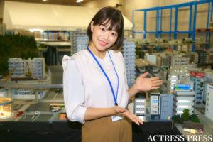 鹿嶋志帆/「SMALL WORLDS TOKYO」プレス向け発表会 イベントにて(2019年11月28日):撮影:ACTRESS PRESS編集部