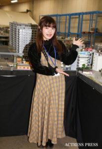 津村麻乃/「SMALL WORLDS TOKYO」プレス向け発表会 イベントにて(2019年11月28日):撮影:ACTRESS PRESS編集部