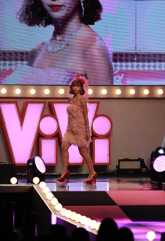 藤田ニコル(ViViモデル) ViViNight in Taipei(11月16日(土)、 台湾の新光三越Legacy MAXにて。