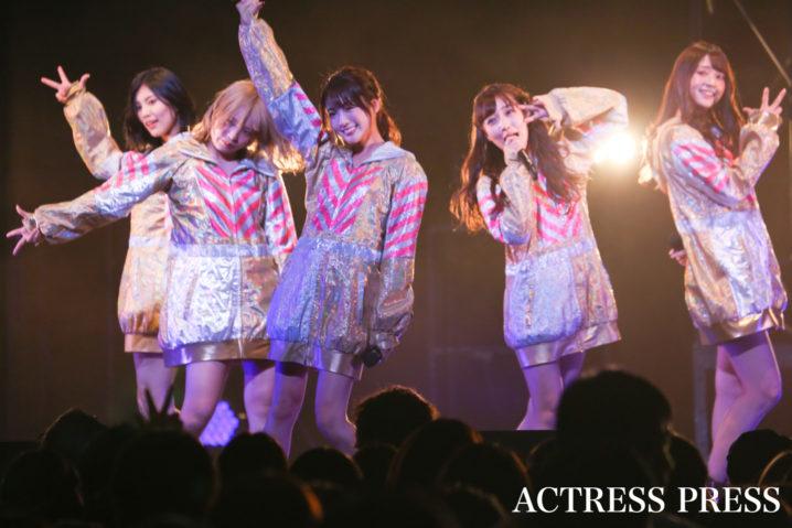 夢みるアドレセンス/2019年11月17日、「AGESTOCK2019 in TOKYO DOME CITY HALL」でのライブにて/撮影:ACTRESS PRESS編集部