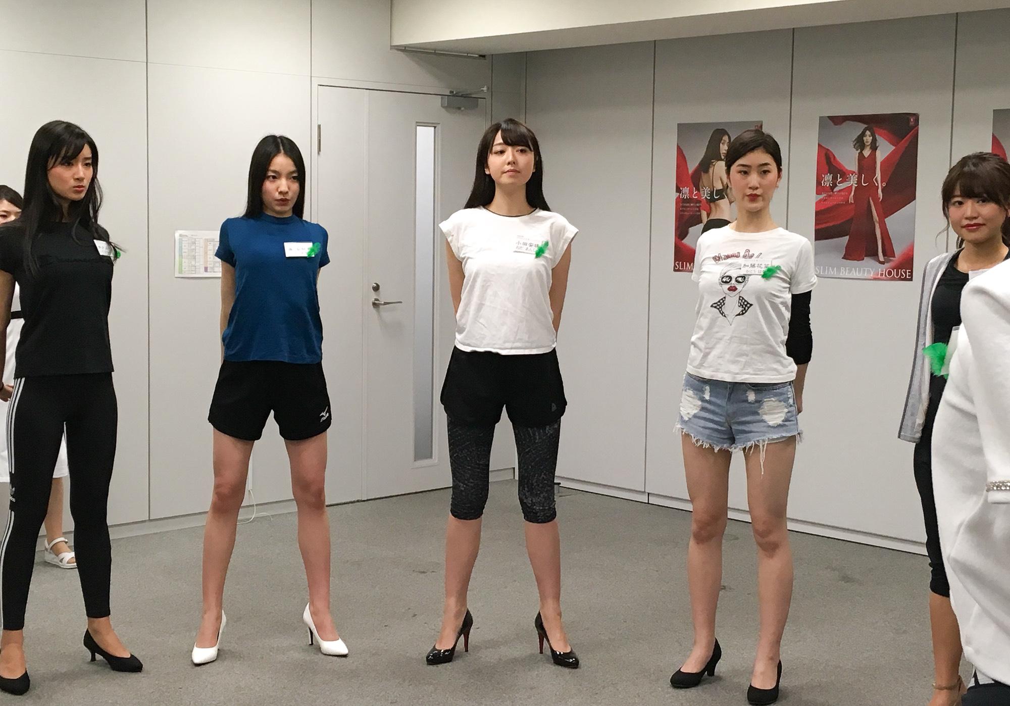 2019年12月2日、ミス日本コンテスト2020でのビューティエクササイズにて