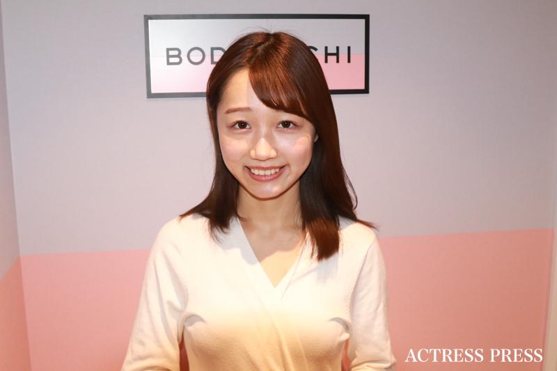 稲永怜奈/『BODY ARCHI池袋店』体験リポート(2019年12月9日)撮影:ACTRESS PRESS編集部