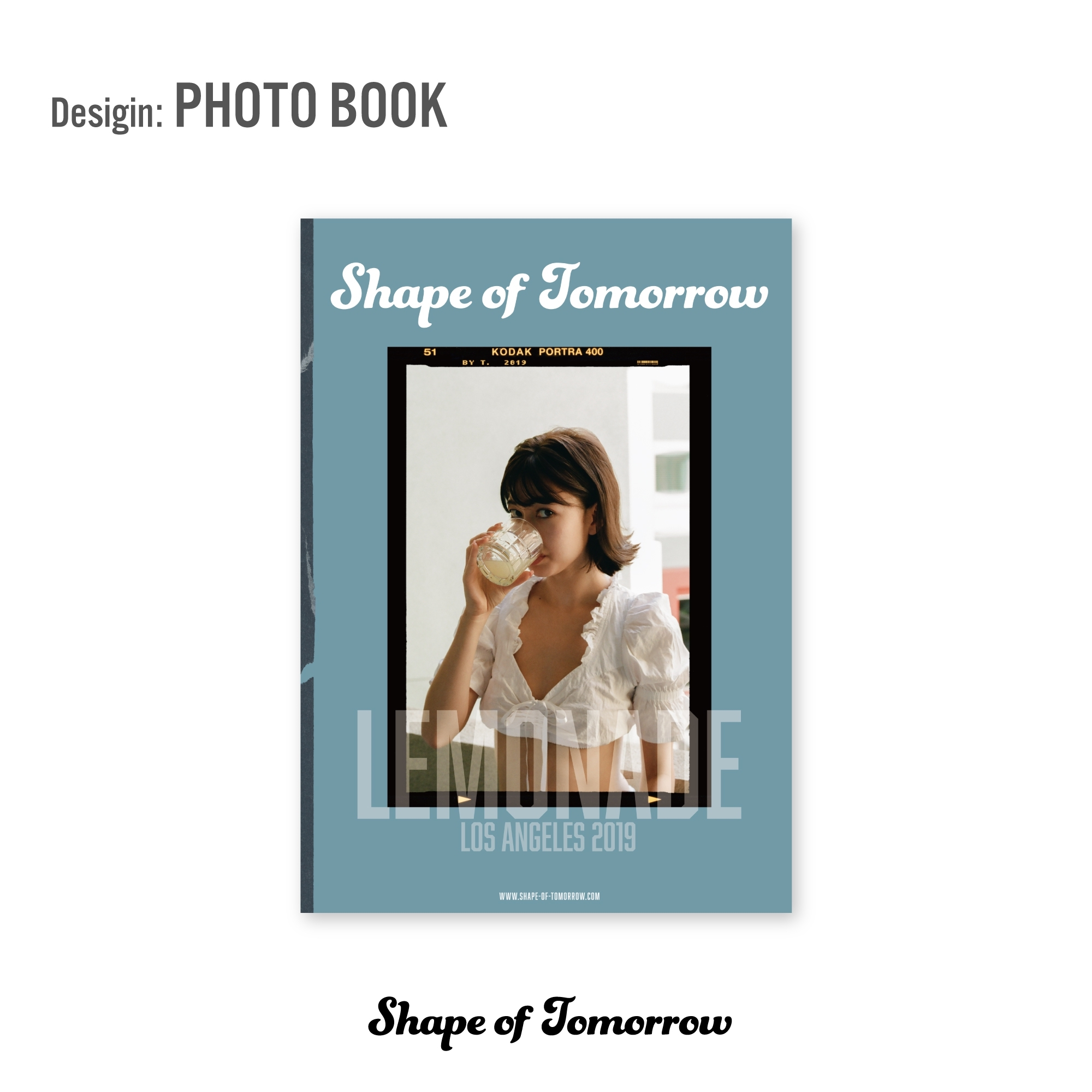 山本ソニアとT.が手がける新プロジェクト「Shape of Tomorrow」ブック