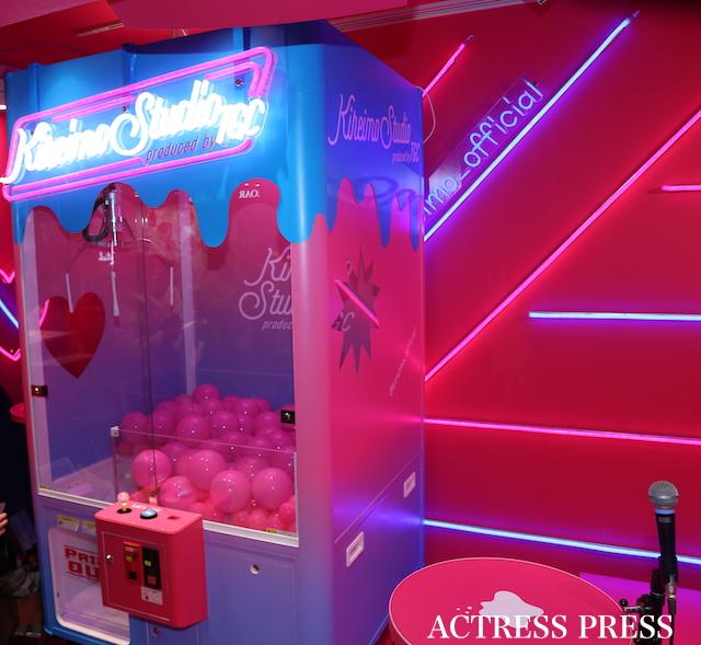 「キレイモ スタジオ Produced by TGC」のキレイモPINKYクレーン/ACTRESS PRESS編集部
