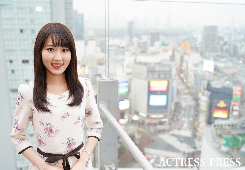 井手麻以花/撮影:ACTRESS PRESS編集部