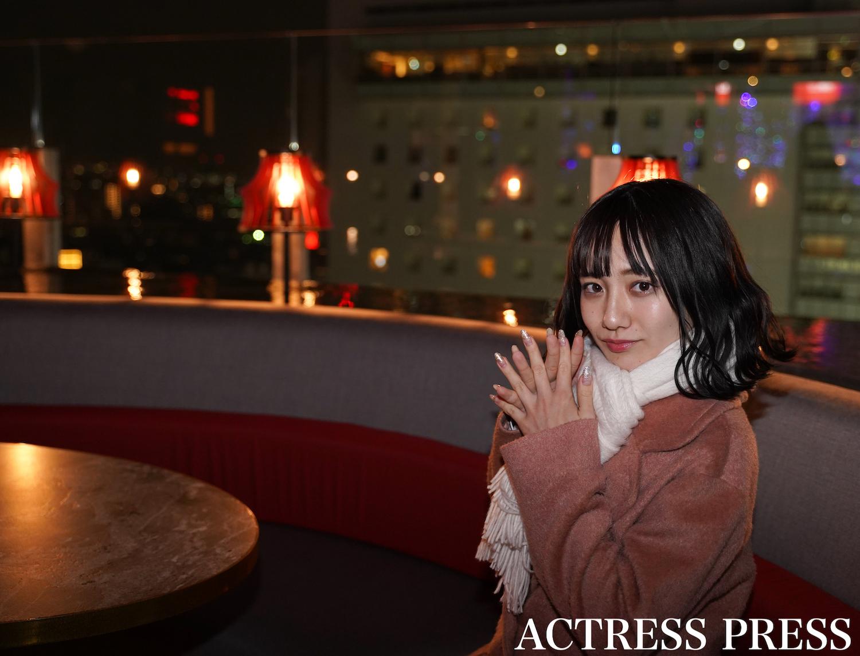 近藤真琴(dela)/2019年12月某日、東京・渋谷にて/撮影:ACTRESS PRESS編集部