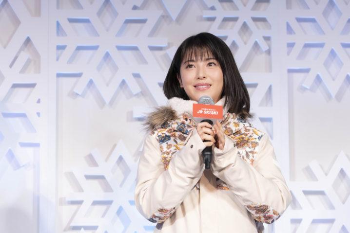 浜辺美波/「JR SKISKI キャンペーン 記者発表会」2019年12月18日