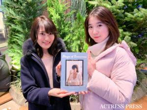 浅井香音(左)戸梶潤子(右)撮影:ACTRESS PRESS編集部