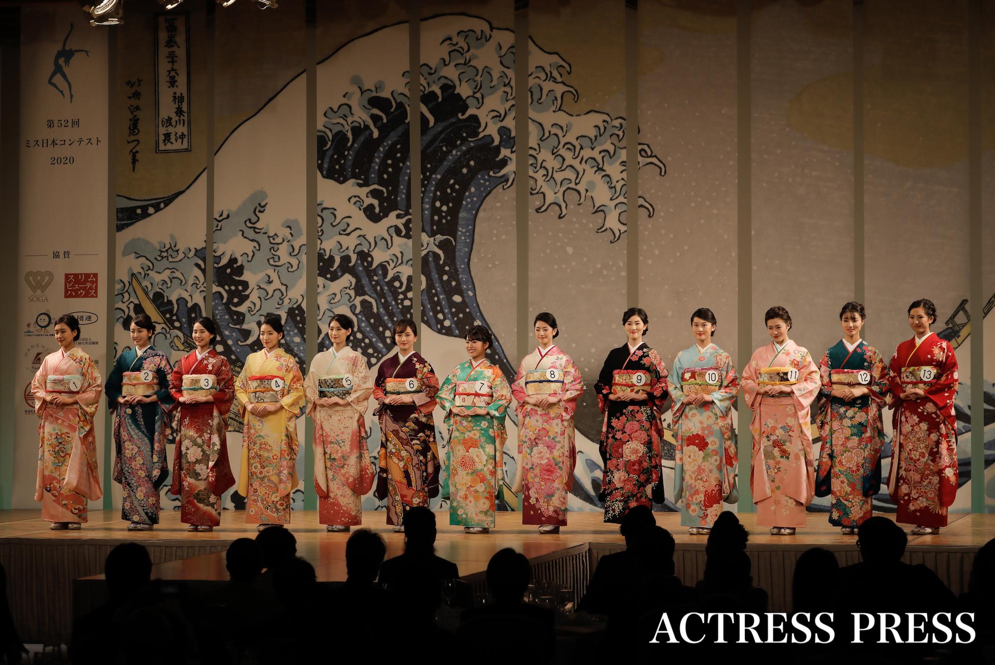 2020年1月20日(月)、『第52回ミス日本コンテスト2020』にて/撮影:ACTRESS PRESS編集部