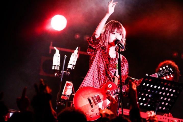 藤川千愛(ふじかわ ちあい)/1月19日、新宿BLAZEでワンマンライブ「新宿の夜」にて