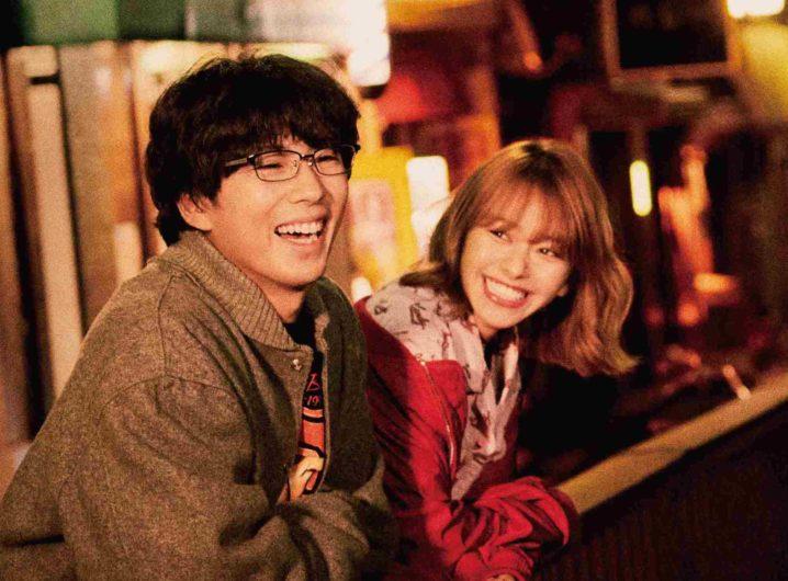 山本舞香・賀来賢人/TVドラマ『死にたい夜にかぎって』ポスター