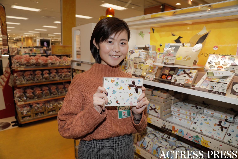 白賀可奈/2020年1月24日、イトーヨーカドー葛西店のバレンタインイベントにて/撮影:ACTRESS PRESS編集部