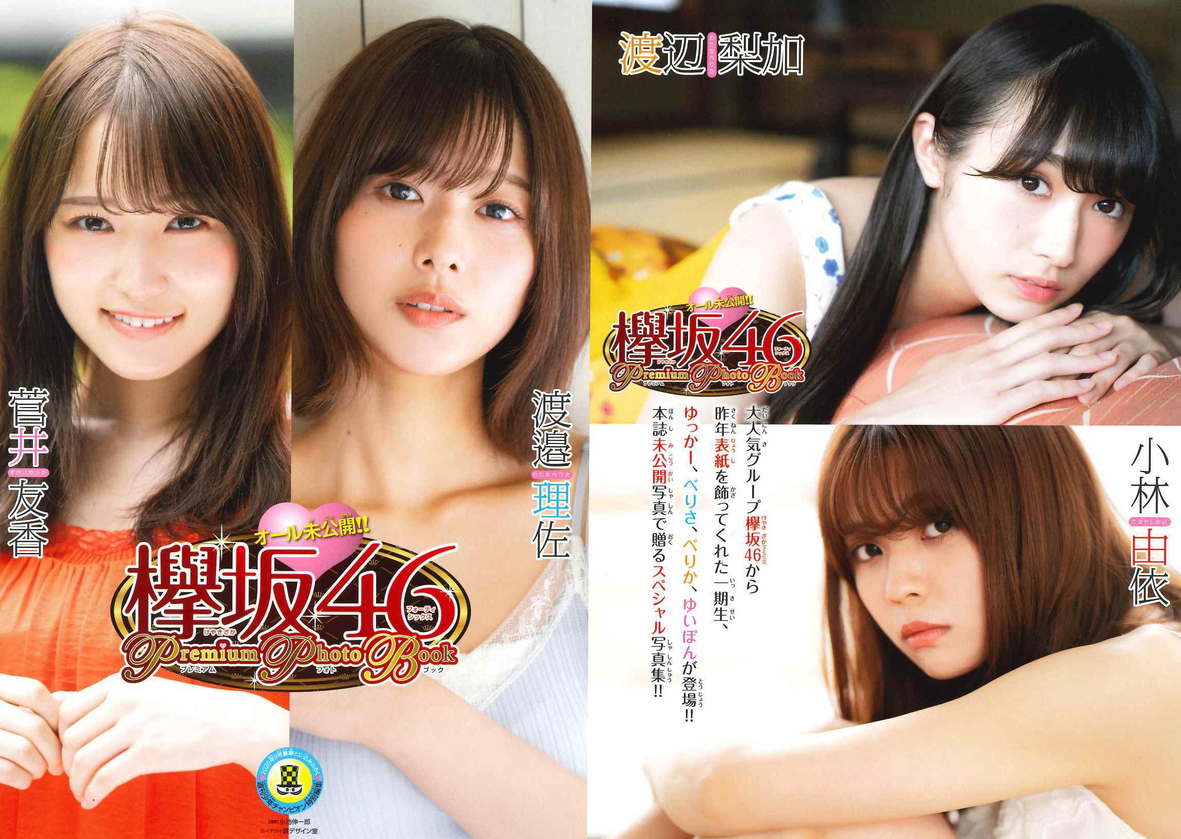 欅坂46プレミアムフォトブック表紙