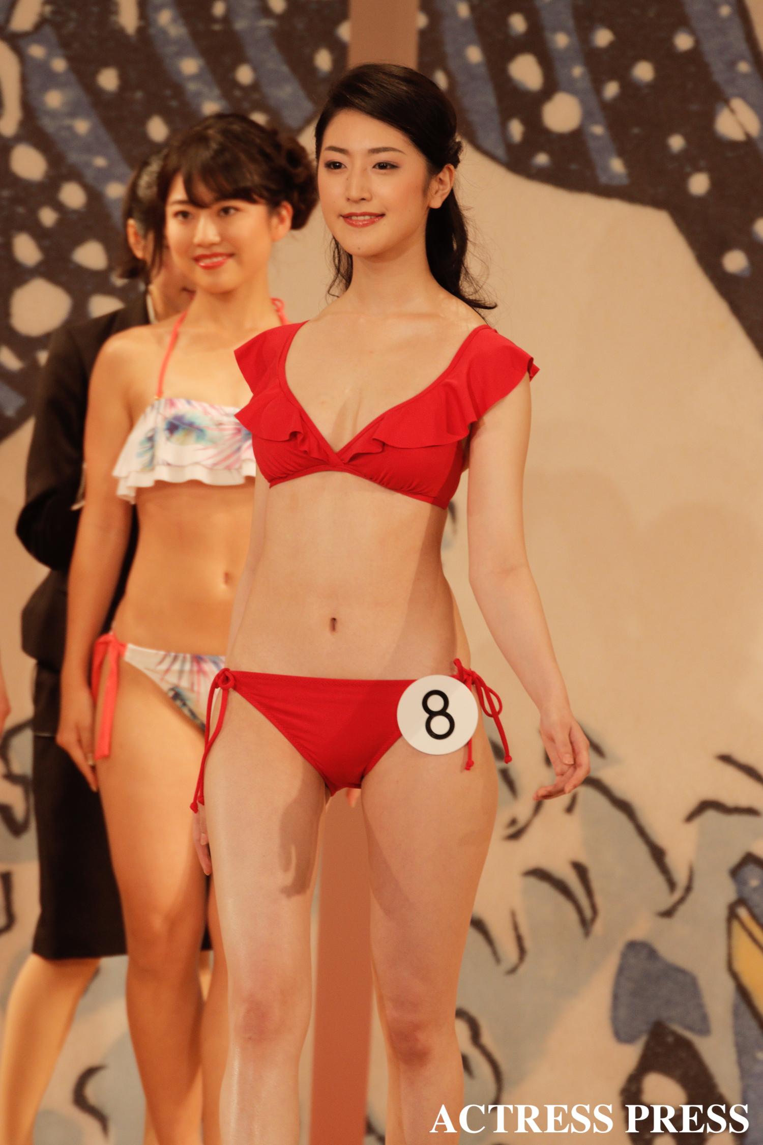 青木 胡杜音/2020年1月20日(月)、『第52回ミス日本コンテスト2020』にて/撮影:ACTRESS PRESS編集部