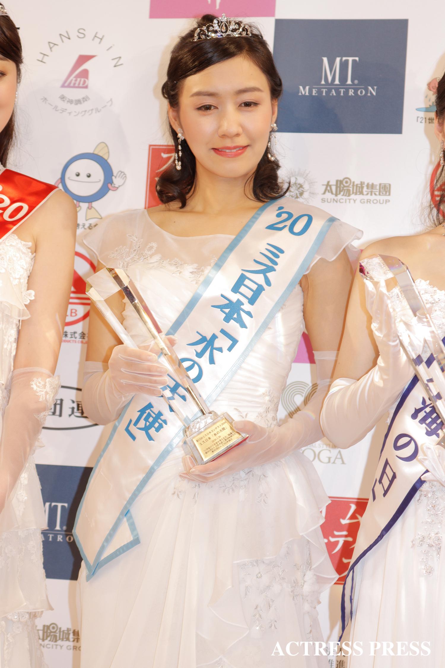 中村 真優/2020年1月20日(月)、『第52回ミス日本コンテスト2020』受賞者/撮影:ACTRESS PRESS編集部