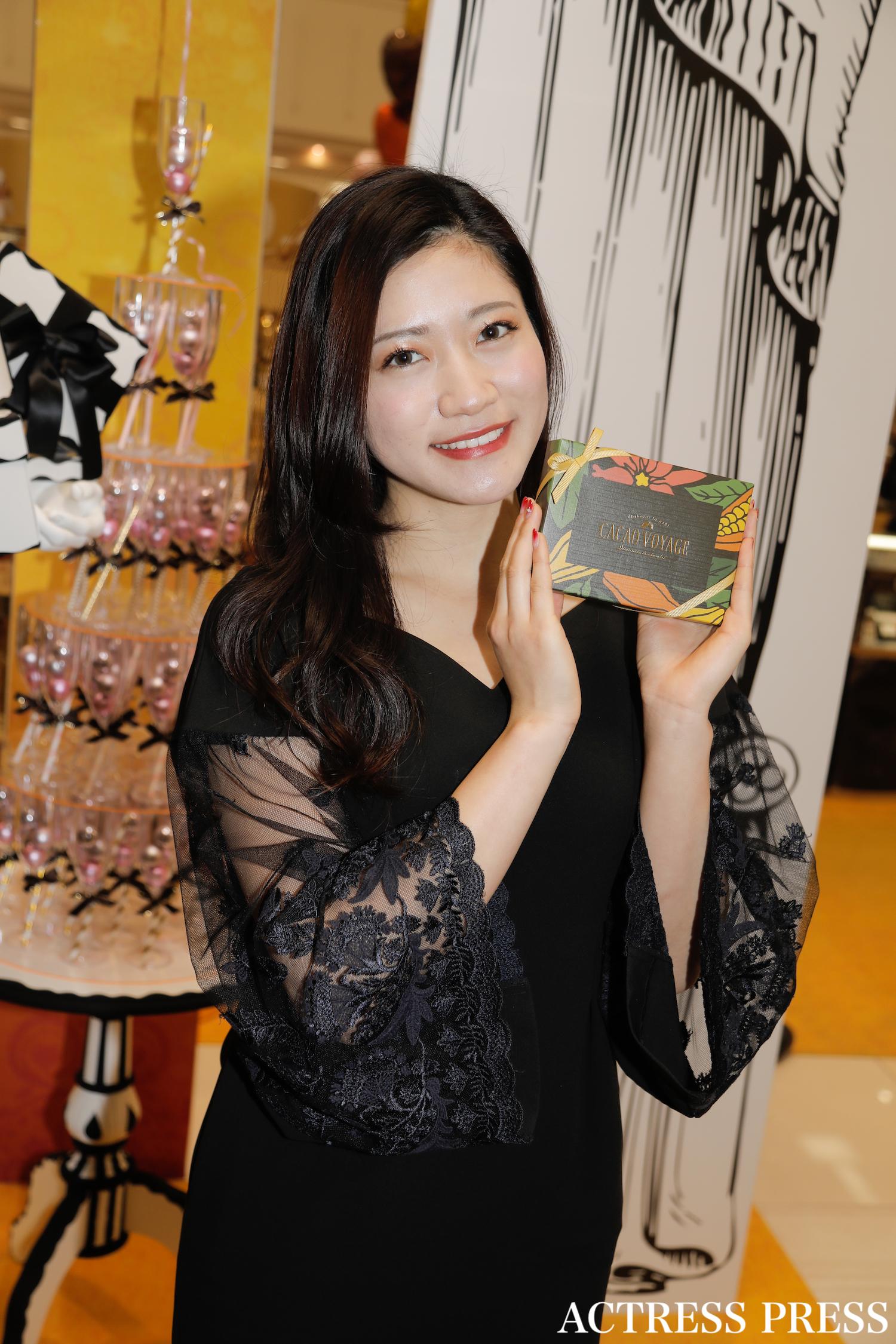 大野南香/2020年1月24日、イトーヨーカドー葛西店のバレンタインイベントにて/撮影:ACTRESS PRESS編集部