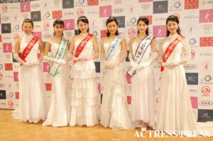 2020年1月20日(月)、『第52回ミス日本コンテスト2020』受賞者/撮影:ACTRESS PRESS編集部