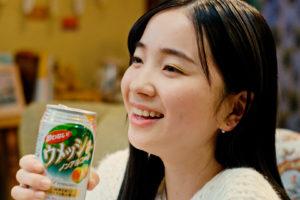 福地桃子/酔わないウメッシュの5代目新キャラクター CM