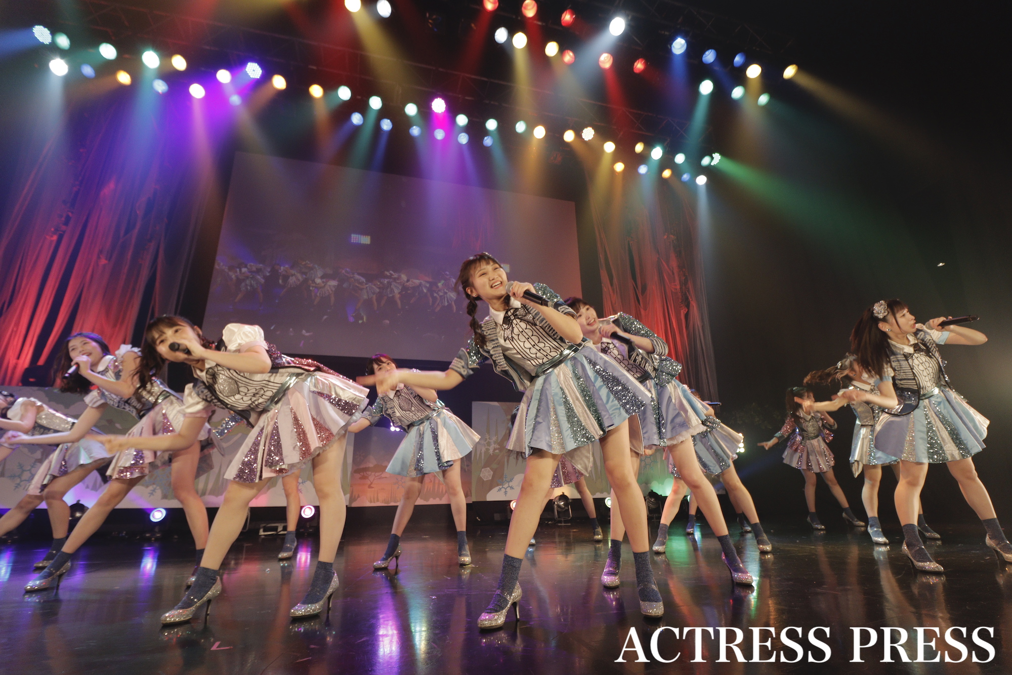 AKB48フレッシュ選抜/2020年2月13日、全国大学対抗アイドルコピーダンスコンテスト「UNIDOL2019-20 Winter supported by Sammy」/撮影:ACTRESS PRESS編集部