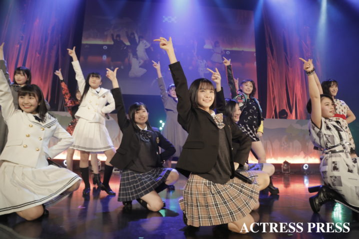 BEYOOOOONDS(ビヨーンズ)/2020年2月13日、全国大学対抗アイドルコピーダンスコンテスト「UNIDOL2019-20 Winter supported by Sammy」/撮影:ACTRESS PRESS編集部