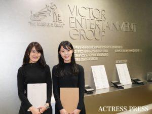浅井香音、小木曽葵/撮影:ACTRESS PRESS編集部