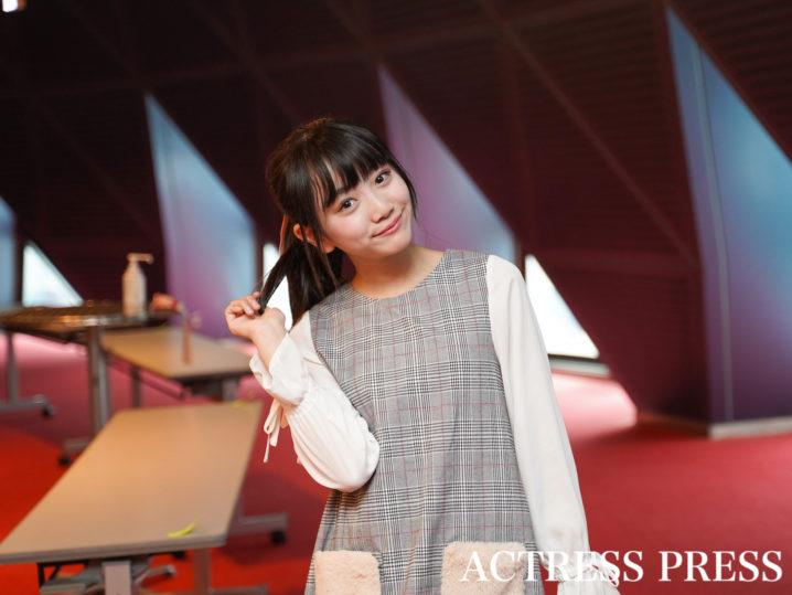 村田万葉/2020年2月16日、東京・渋谷にて/撮影:ACTRESS PRESS編集部