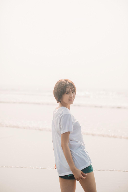 宮司愛海写真集『まっすぐ』より