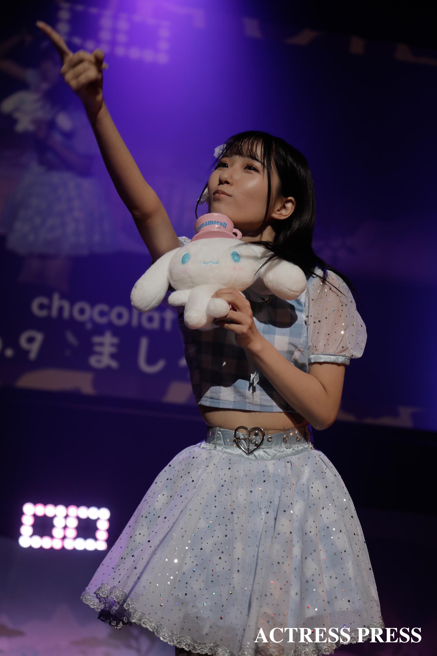 駒澤大学chocolat lumière:ましろ/2020年2月13日、MISS UNIDOL19-20/撮影:ACTRESS PRESS編集部