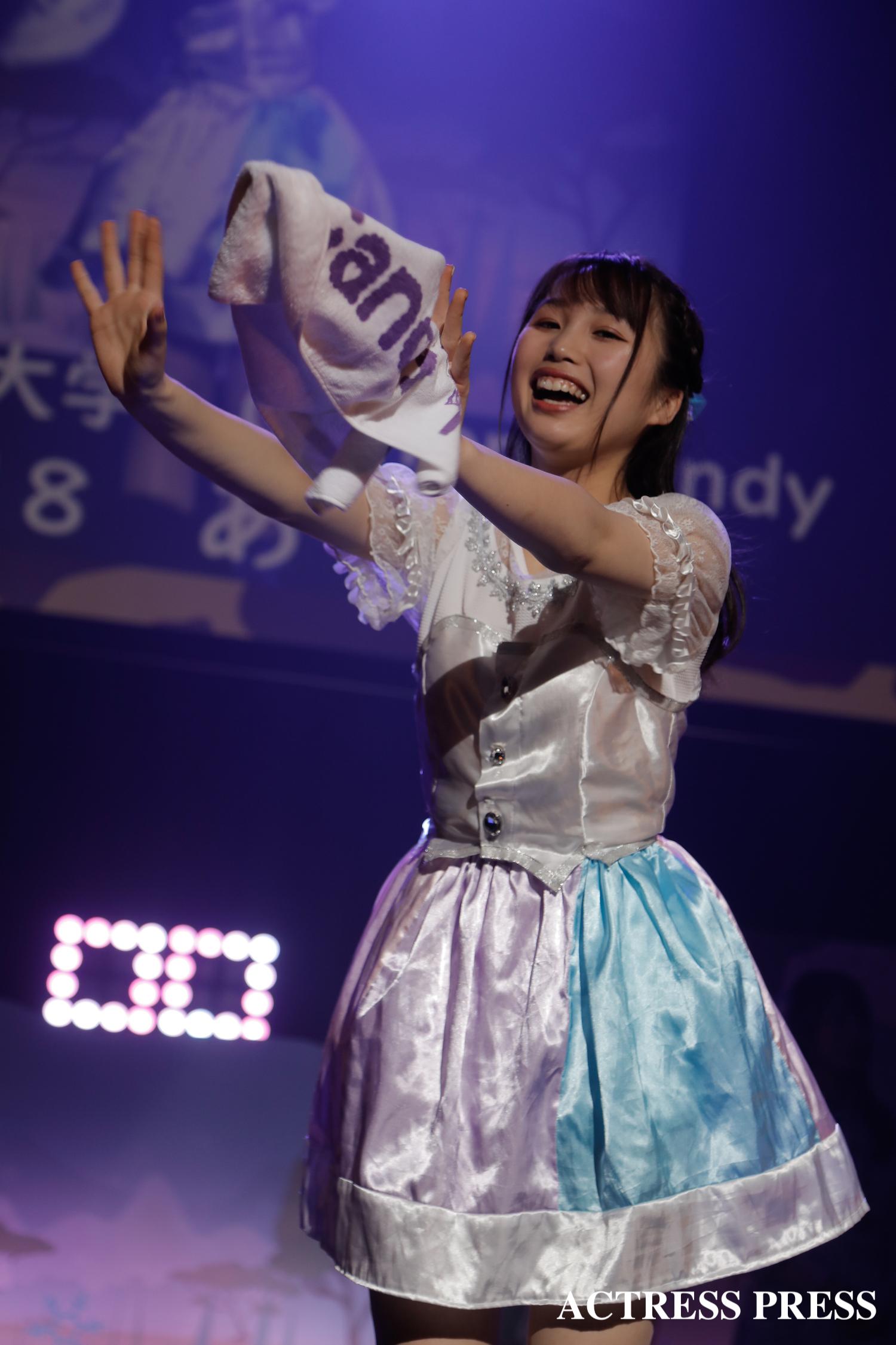 京都女子大学 Cotton Candy あり/2020年2月13日、MISS UNIDOL19-20/撮影:ACTRESS PRESS編集部