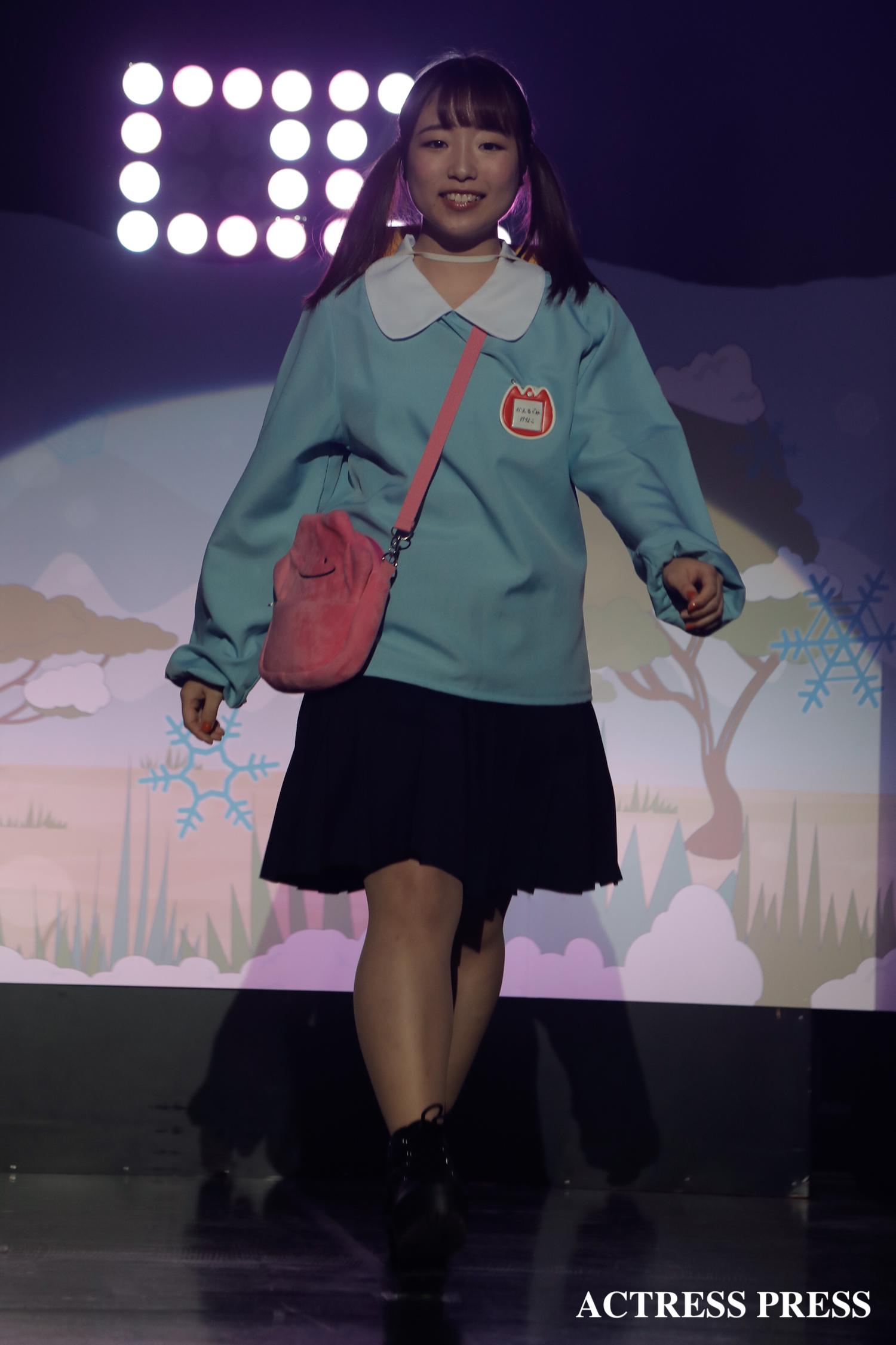 北星学園大学 Prima☆Stella かなこ/2020年2月13日、MISS UNIDOL19-20/撮影:ACTRESS PRESS編集部