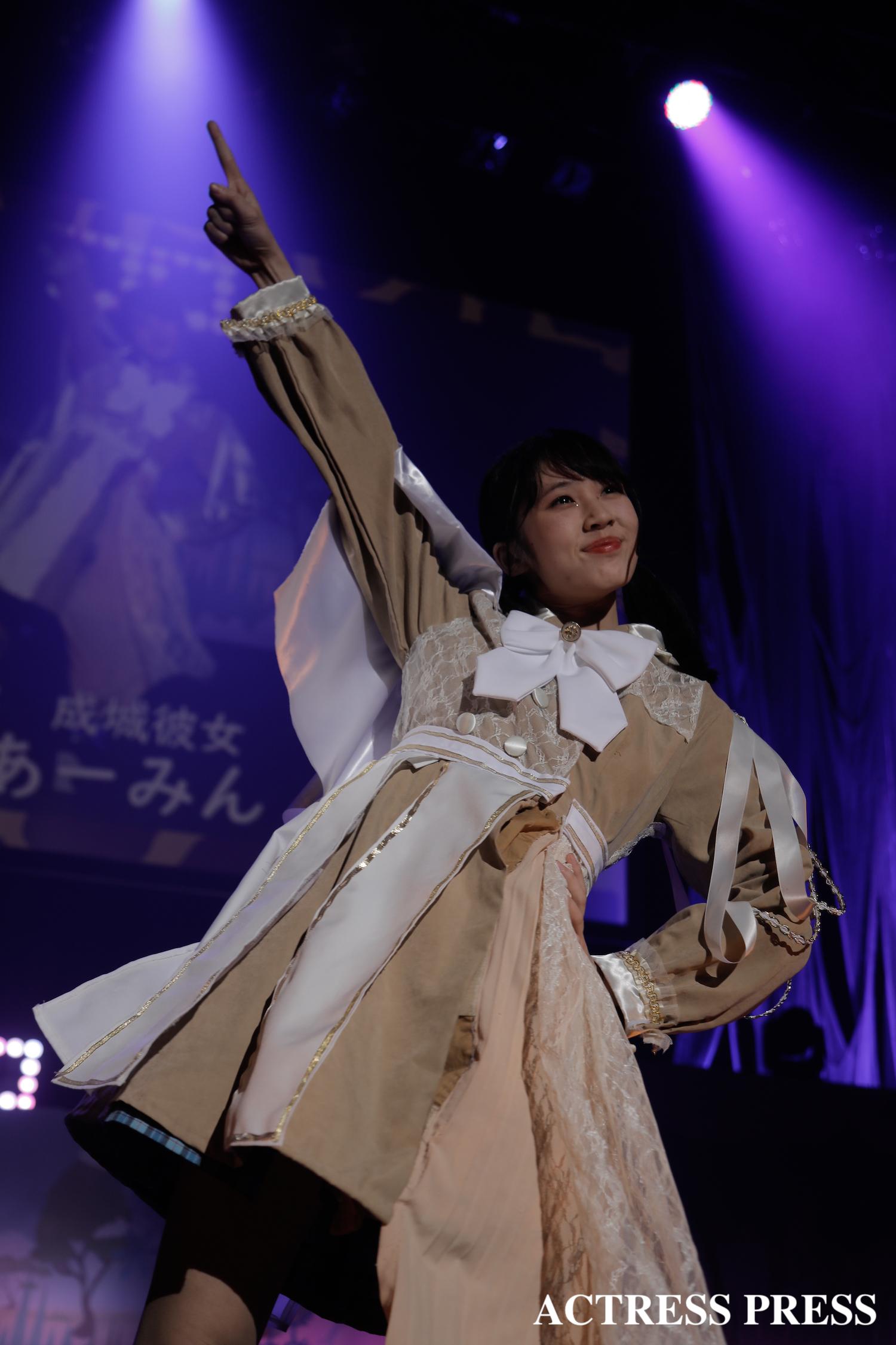 成城大学 成城彼女 あーみん/2020年2月13日、MISS UNIDOL19-20/撮影:ACTRESS PRESS編集部
